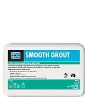 Smooth Grout