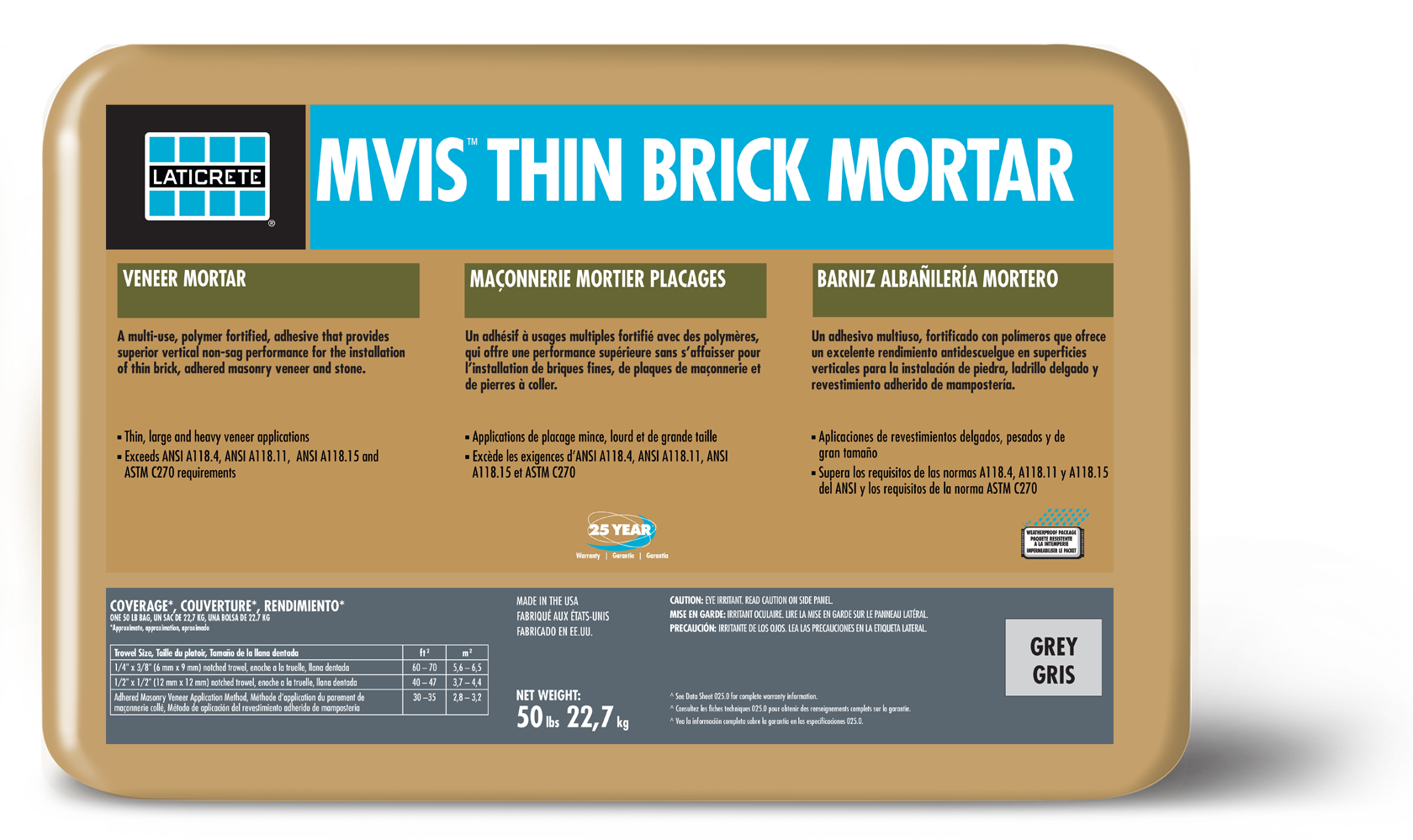 MVIS™ Thin Brick Mortar